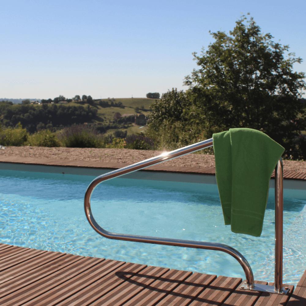Schwimmen im Burgund