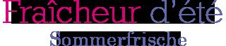 Sommerfrische – Fraîcheur d'été Logo
