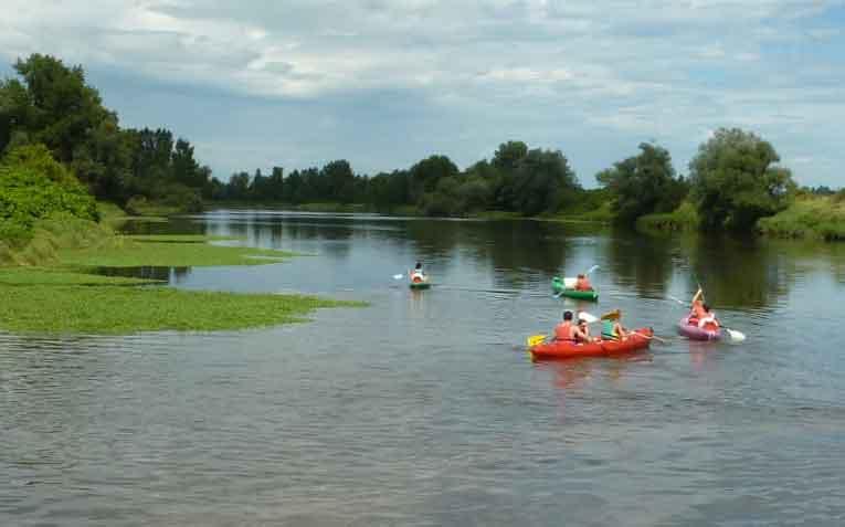 En canoë sur la Loire